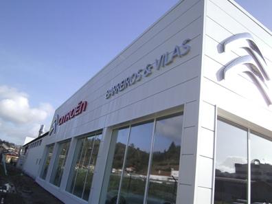 Citroën nos elige empresa distribuidora de panel fachada