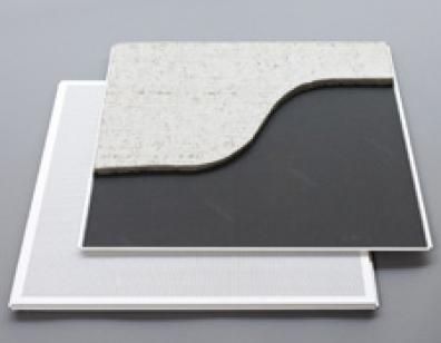 Complemento acústico para techos metálicos