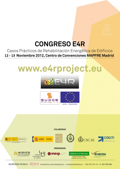 Dismonte en el I Congreso E4R  sobre Rehabilitación Energética de Edificios