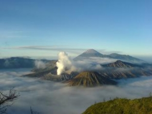 La montaña y el volcán